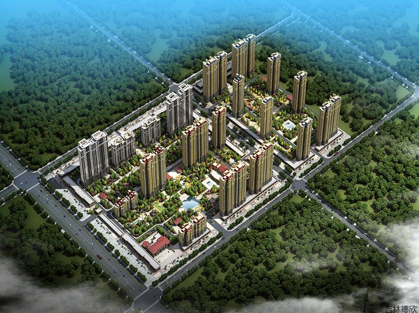 力旺康城第一期